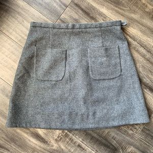 Cos Cashmere and Wool Made In Romanian Skirt